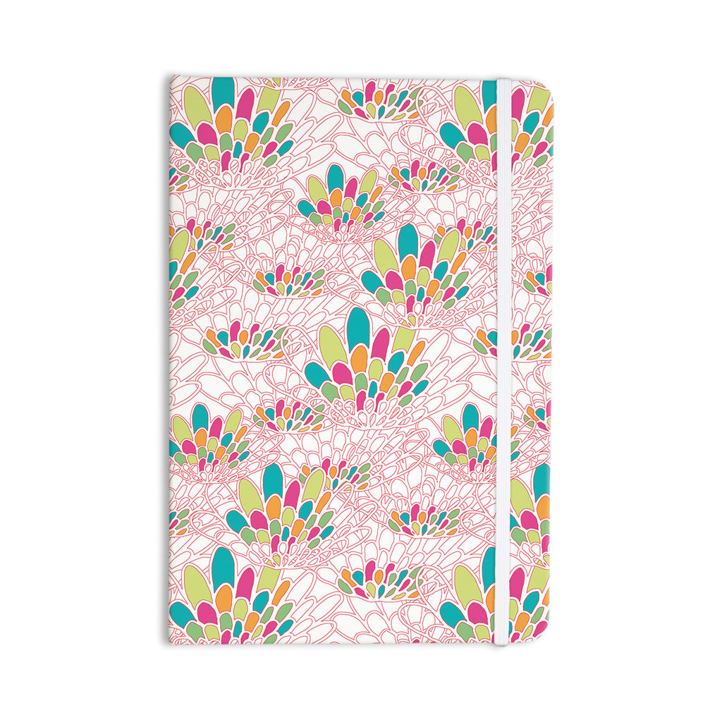 "Miranda Mol ""Blown Away"" Pink Multicolor Everything Notebook - KESS InHouse  - 1"