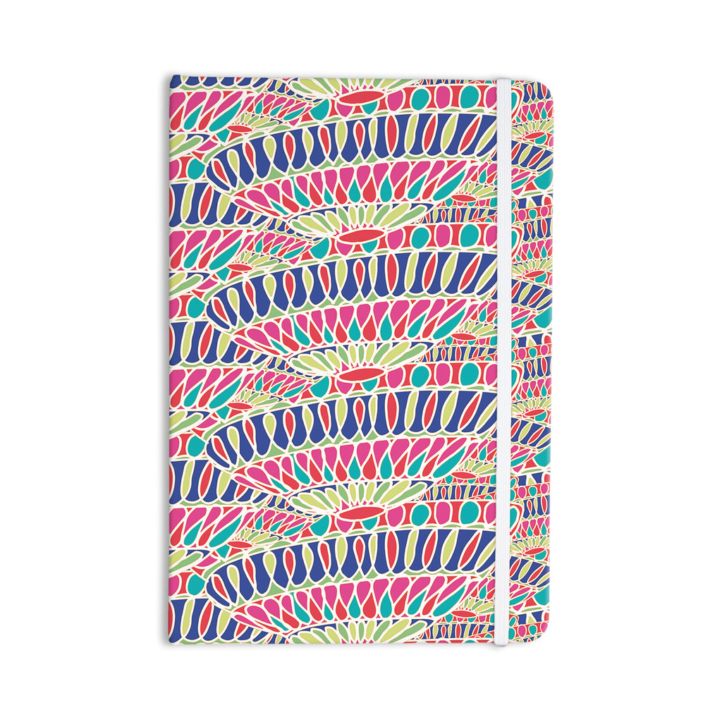 "Miranda Mol ""Abundance"" Magenta Multicolor Everything Notebook - KESS InHouse  - 1"