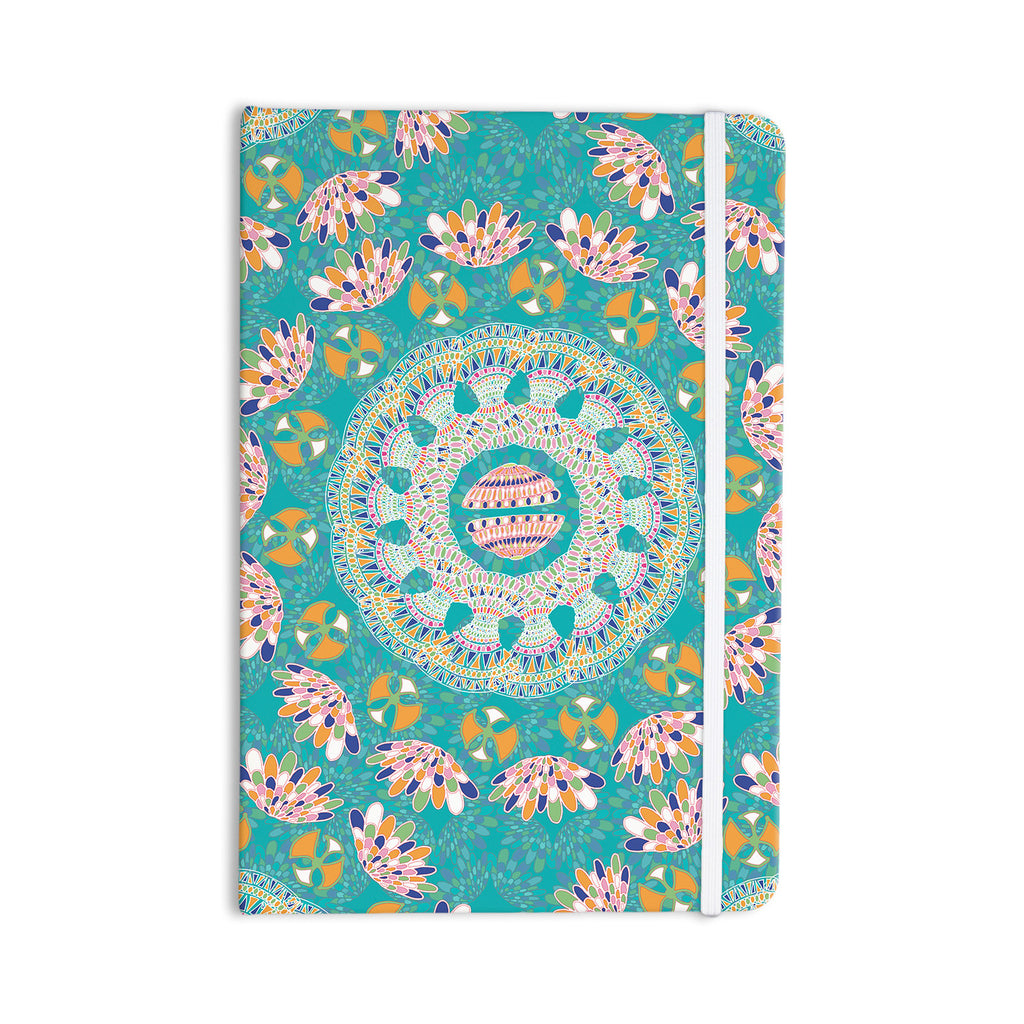 "Miranda Mol ""Luscious"" Blue Pink Everything Notebook - KESS InHouse  - 1"