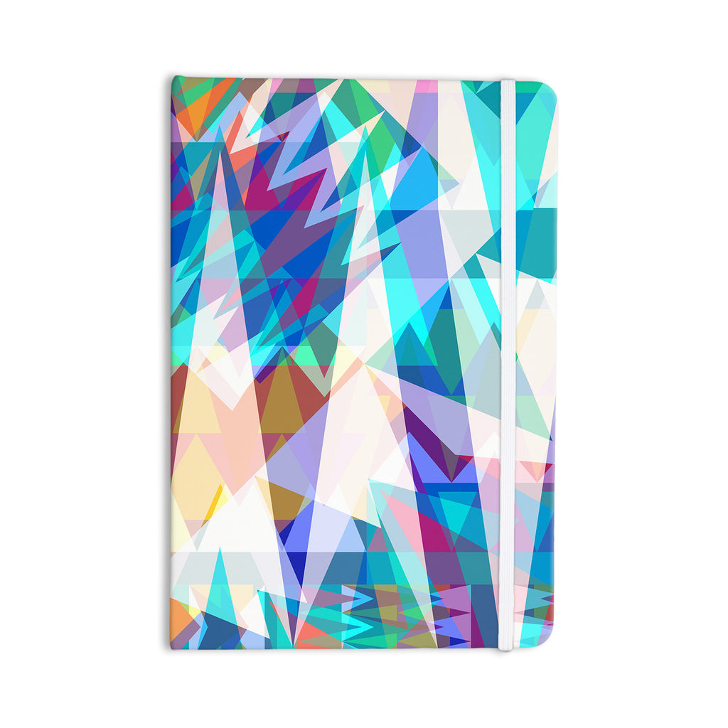 "Miranda Mol ""Triangle Party"" Multicolor Everything Notebook - KESS InHouse  - 1"