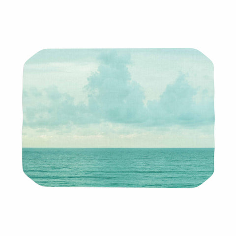 "MaryJo ""Grennish Soul"" Blue Gray Nature Travel Digital Photography Place Mat"