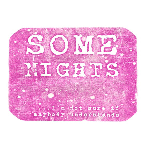 "Monika Strigel ""Some Nights"" Place Mat - KESS InHouse"