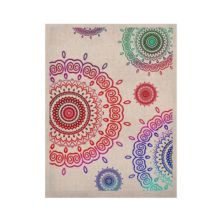 "Monika Strigel ""Rainbow Infinity"" KESS Naturals Canvas (Frame not Included) - KESS InHouse  - 1"