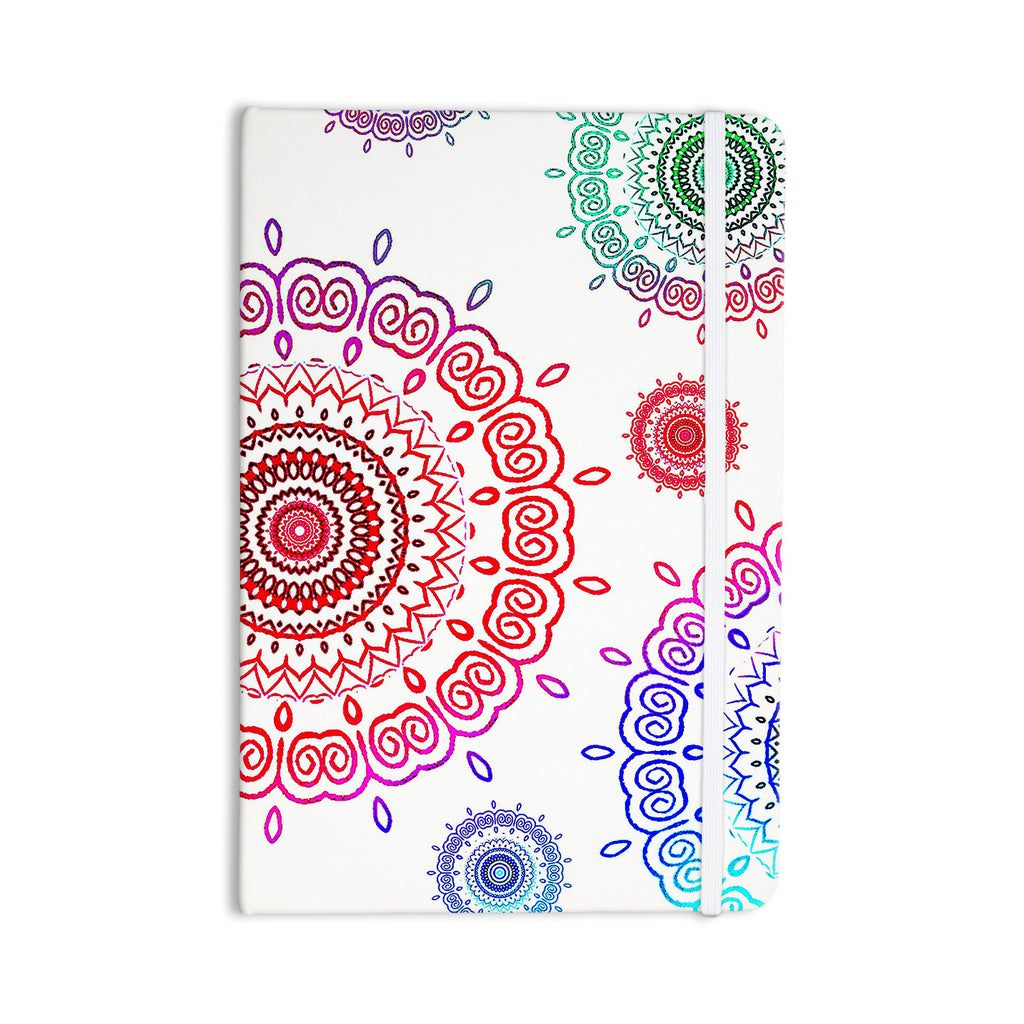 "Monika Strigel ""Rainbow Infinity"" Everything Notebook - KESS InHouse  - 1"