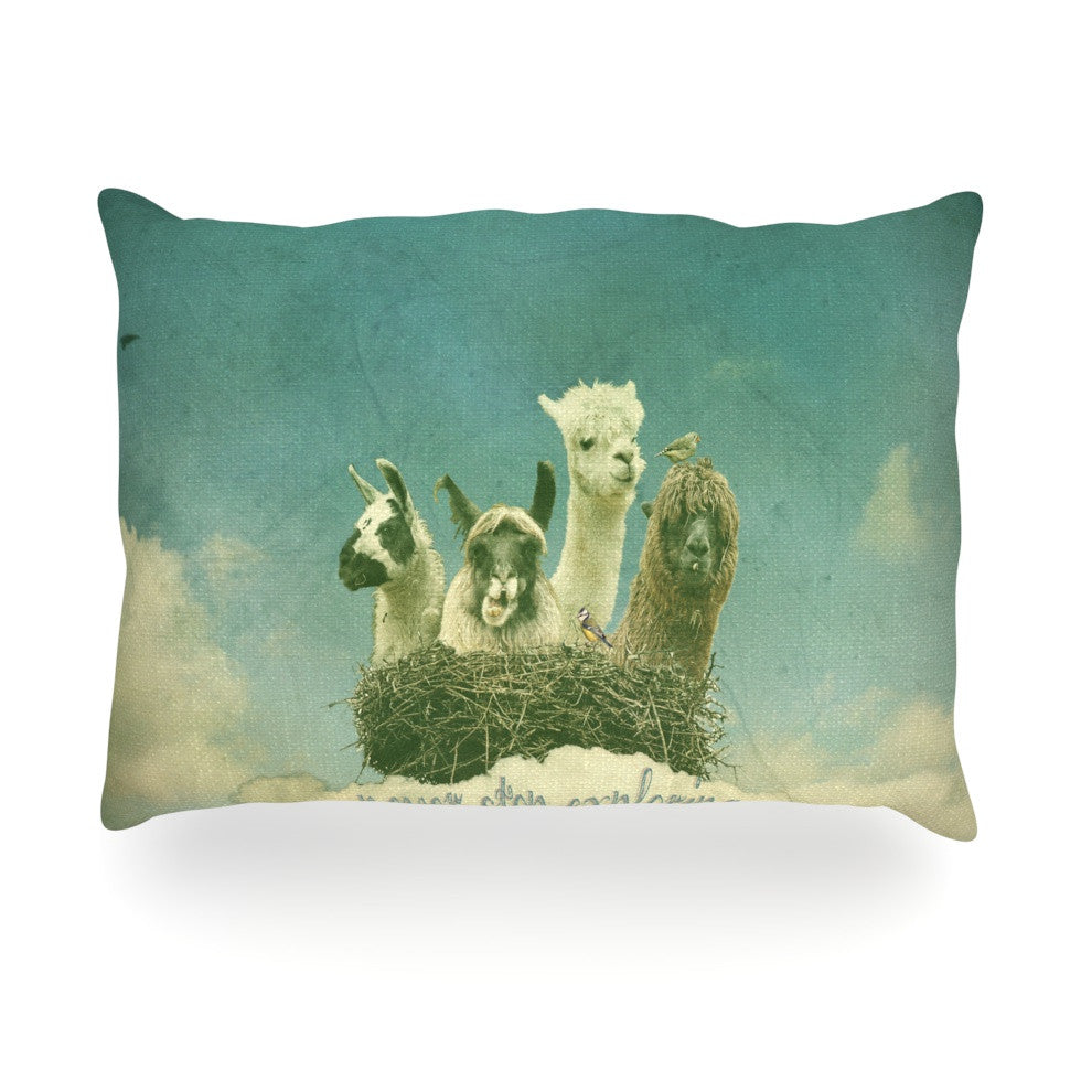 "Monika Strigel ""Never Stop Exploring"" Oblong Pillow - KESS InHouse"