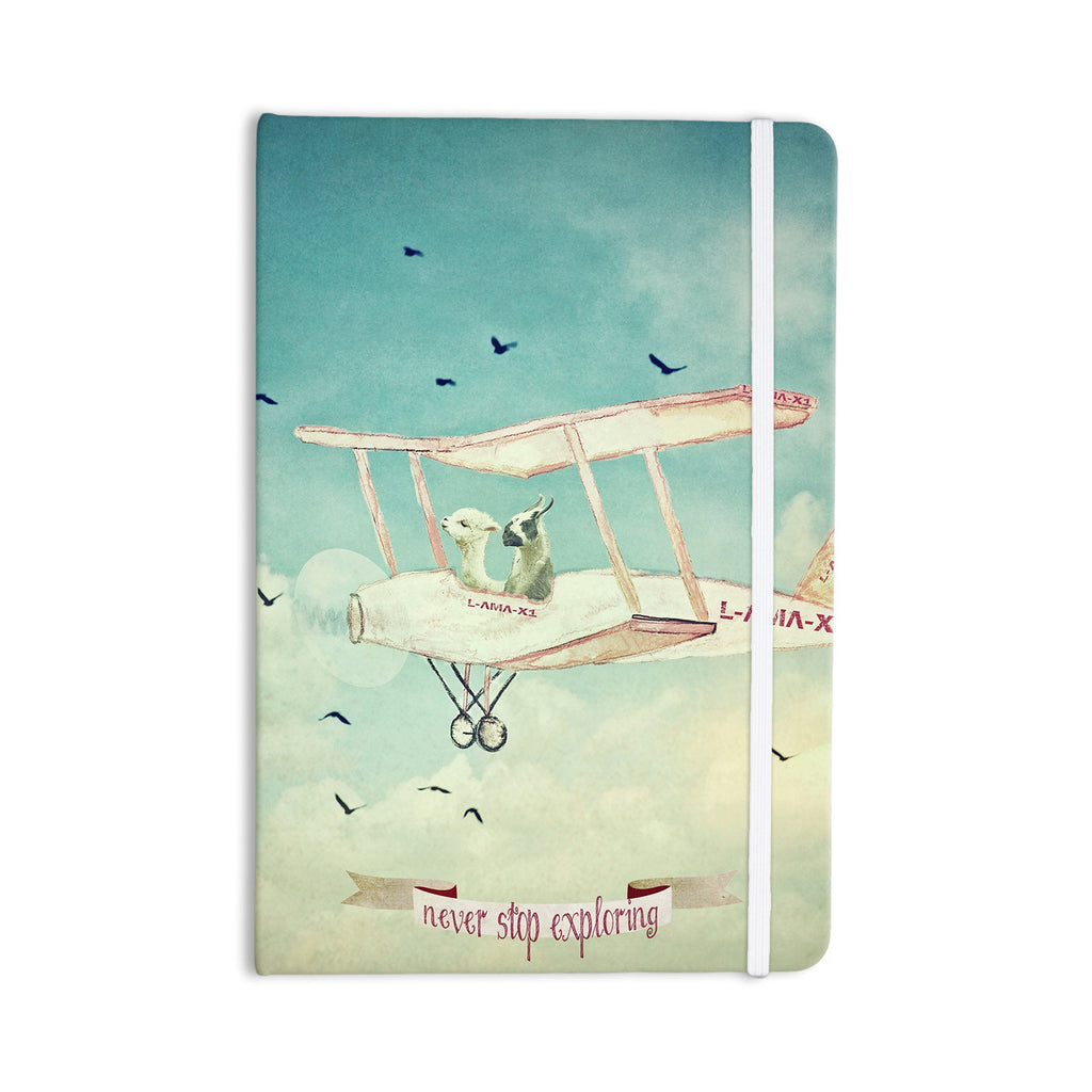 "Monika Strigel ""Never Stop Exploring II"" Everything Notebook - KESS InHouse  - 1"