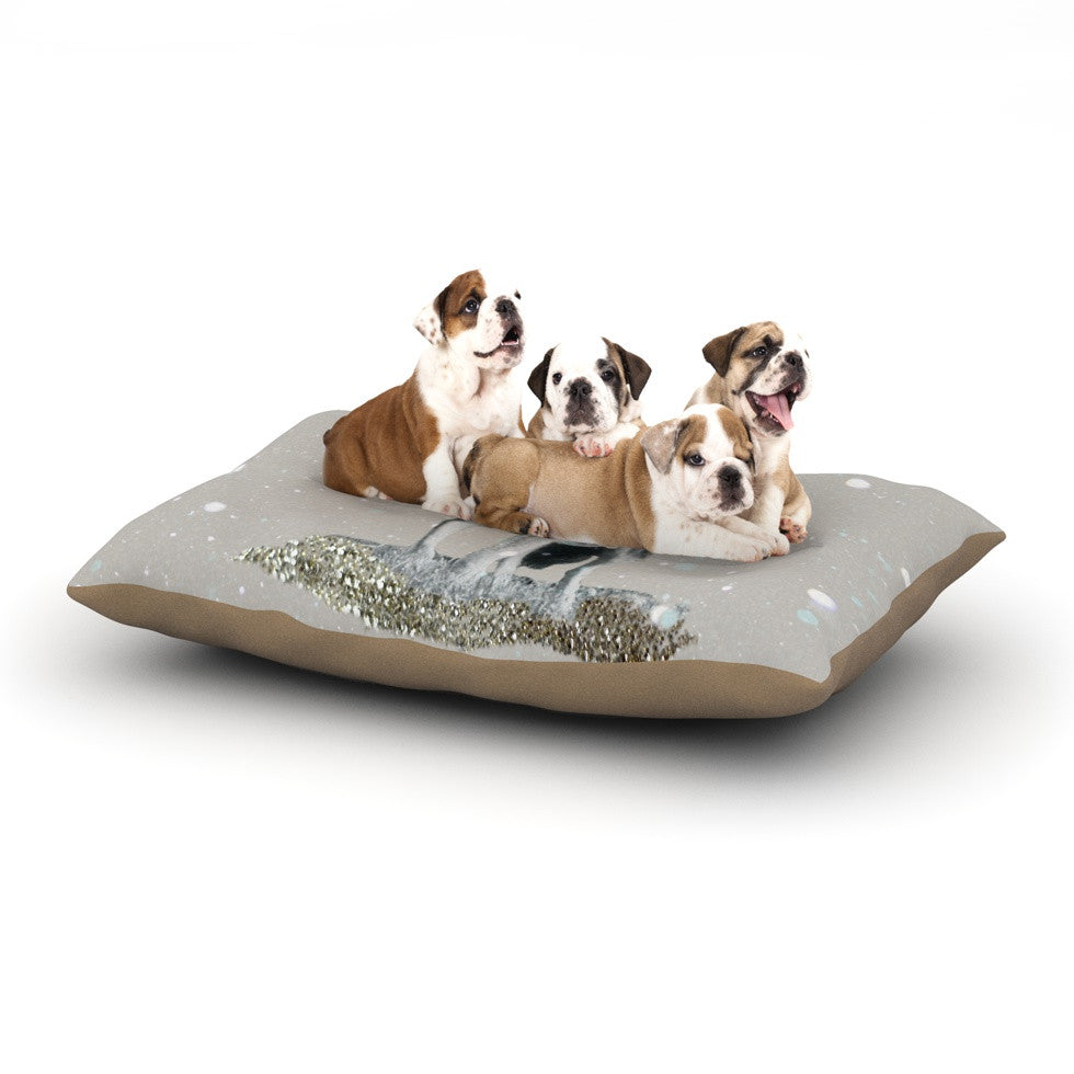 "Monika Strigel ""Wolf"" Dog Bed - KESS InHouse  - 1"