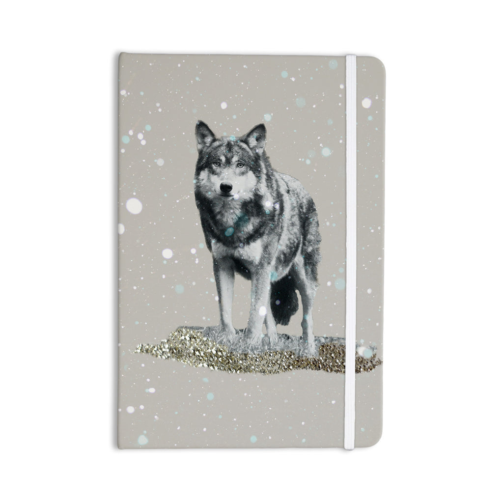 "Monika Strigel ""Wolf"" Everything Notebook - KESS InHouse  - 1"