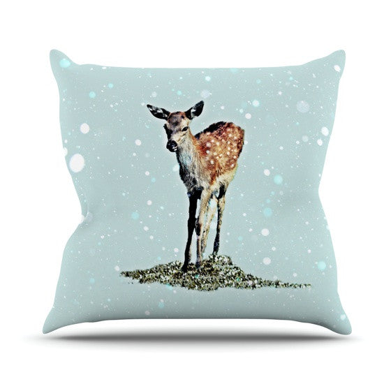 "Monika Strigel ""Fawn"" Throw Pillow - KESS InHouse  - 1"