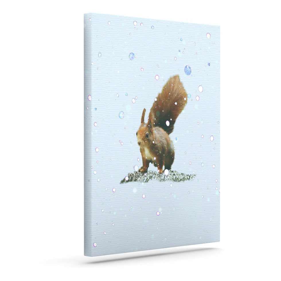 "Monika Strigel ""Squirrel"" Outdoor Canvas Wall Art - KESS InHouse  - 1"