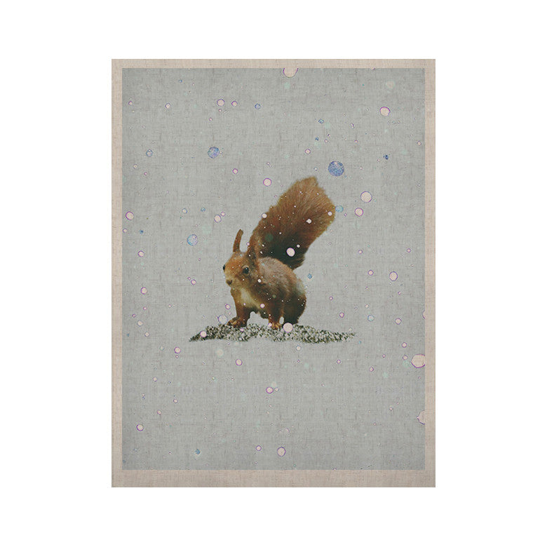 "Monika Strigel ""Squirrel"" KESS Naturals Canvas (Frame not Included) - KESS InHouse  - 1"