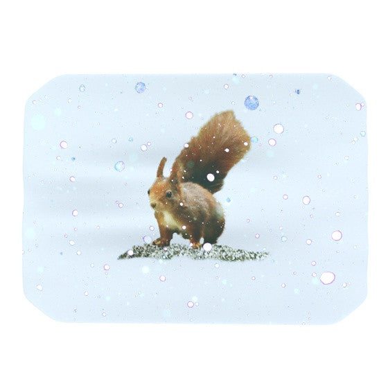 "Monika Strigel ""Squirrel"" Place Mat - KESS InHouse"