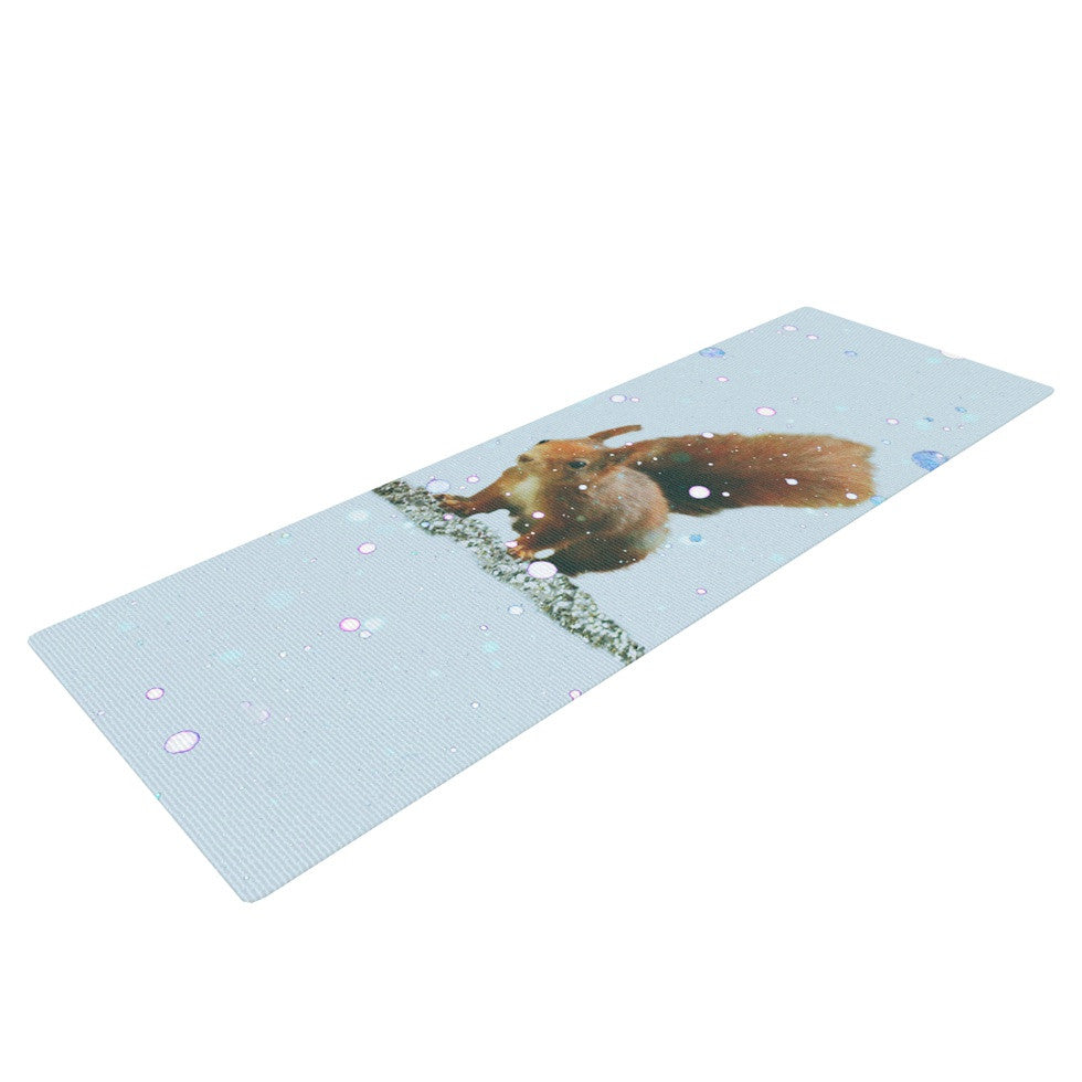 "Monika Strigel ""Squirrel"" Yoga Mat - KESS InHouse  - 1"