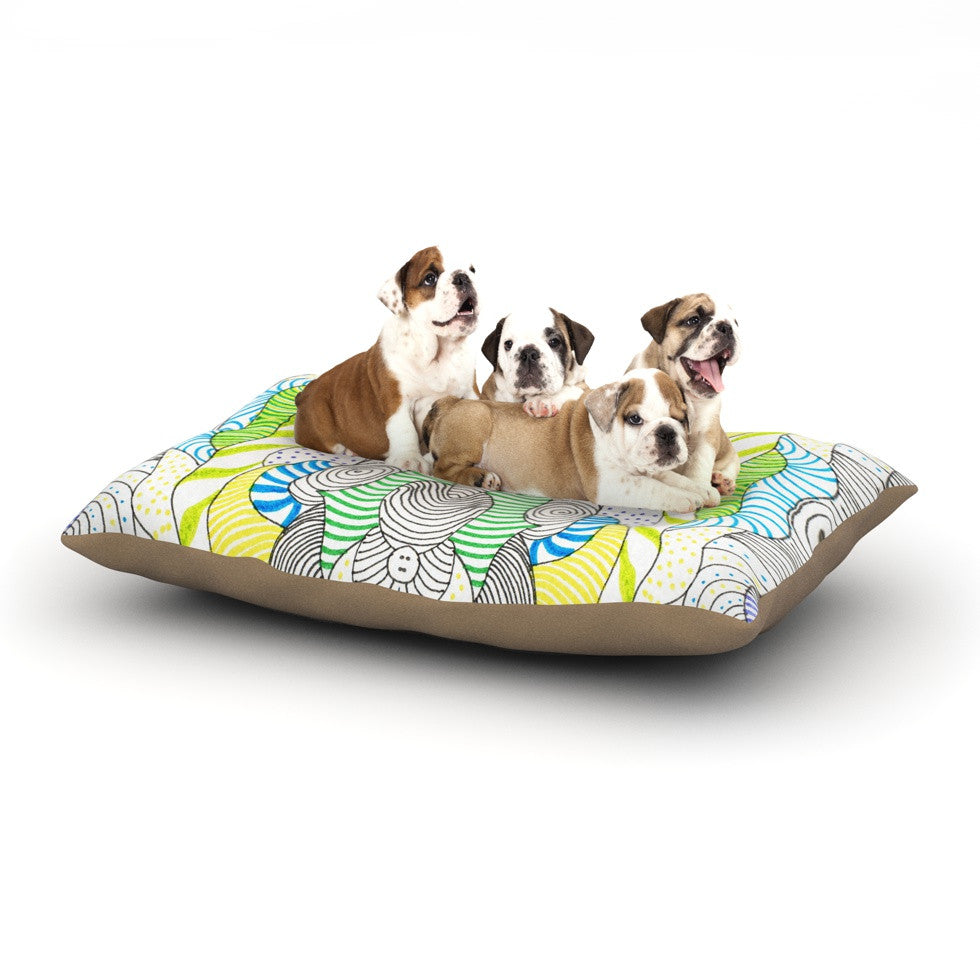 "Monika Strigel ""Wormland"" Dog Bed - KESS InHouse  - 1"