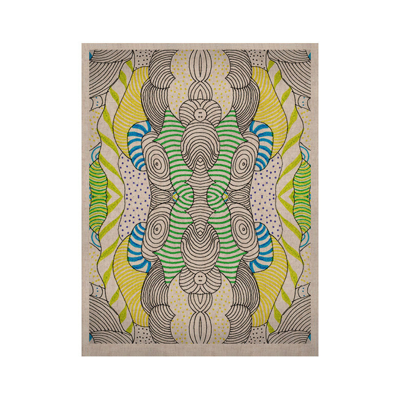 "Monika Strigel ""Wormland""  KESS Naturals Canvas (Frame not Included) - KESS InHouse  - 1"