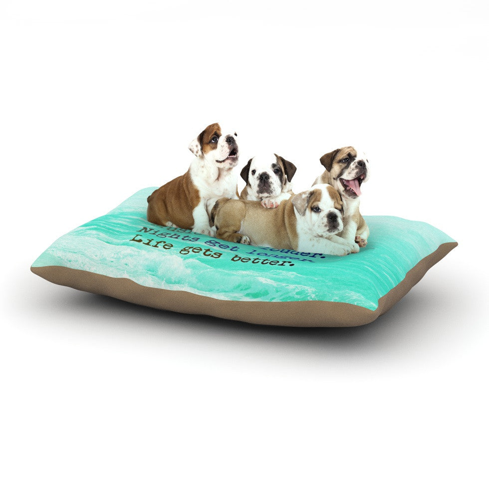 "Monika Strigel ""Summer XXL"" Dog Bed - KESS InHouse  - 1"