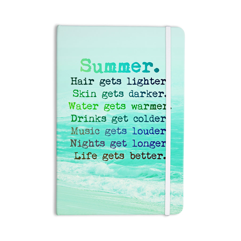 "Monika Strigel ""Summer XXL"" Everything Notebook - KESS InHouse  - 1"