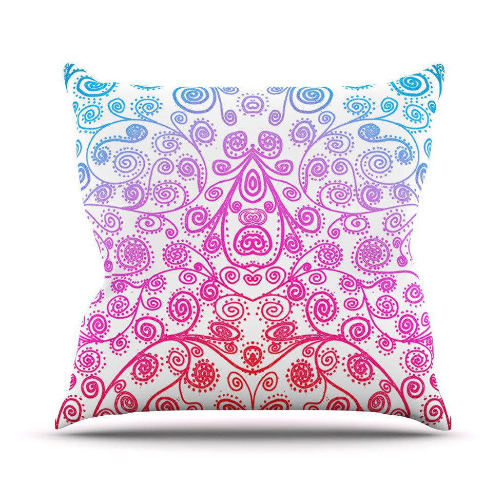 "Monika Strigel ""Safe and Sound"" Throw Pillow - KESS InHouse  - 1"