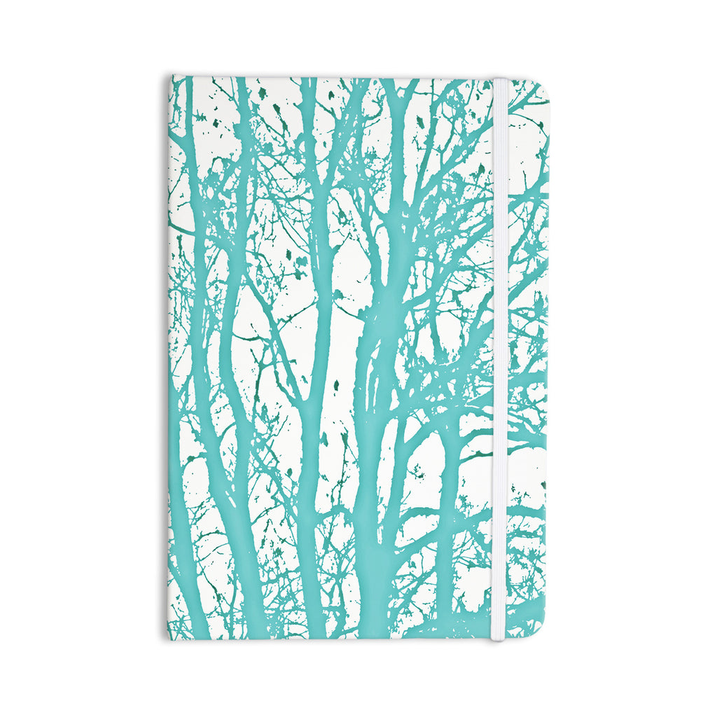 "Monika Strigel ""Mint Trees"" Everything Notebook - KESS InHouse  - 1"