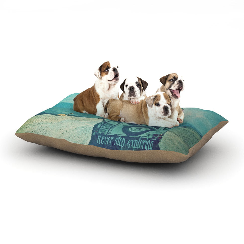 "Monika Strigel ""Never Stop Exploring III"" Dog Bed - KESS InHouse  - 1"