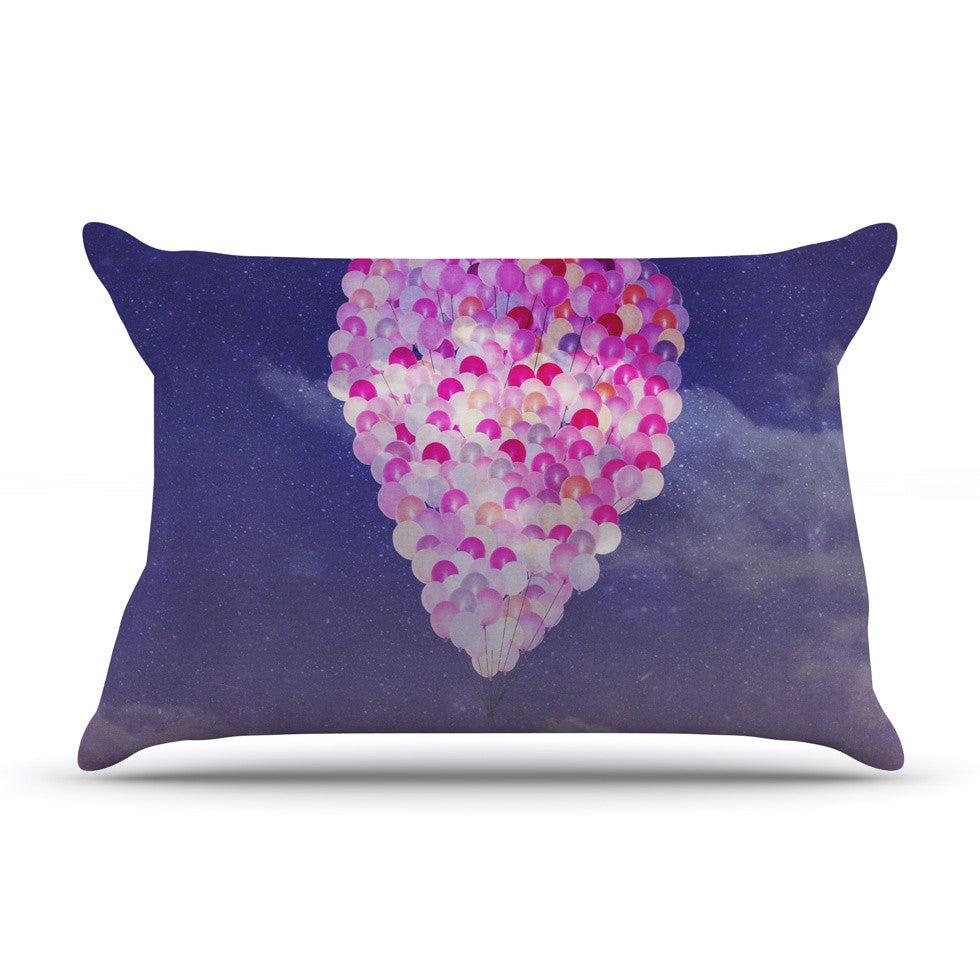"Monika Strigel ""Never Stop Exploring IV"" Pillow Sham - KESS InHouse"