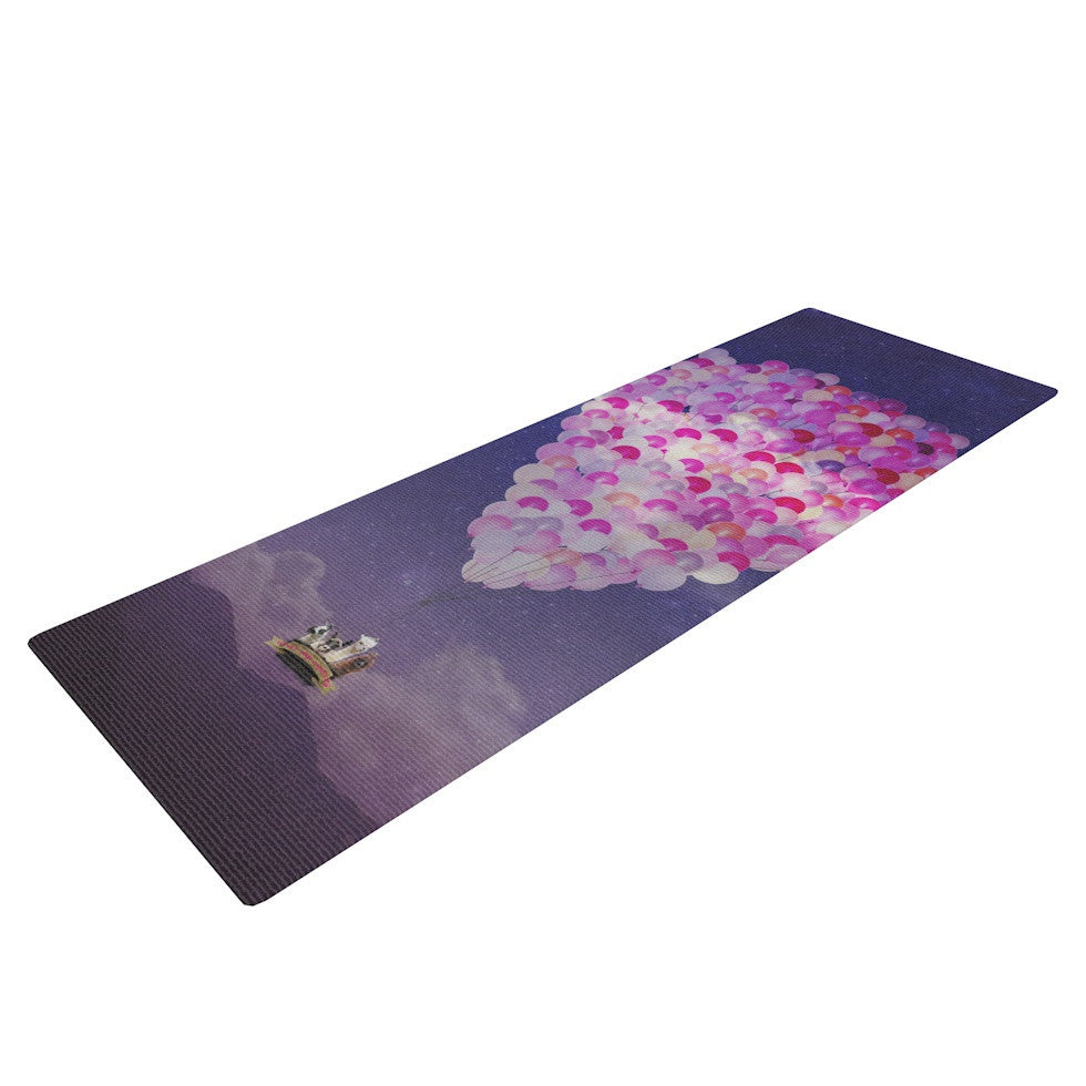 "Monika Strigel ""Never Stop Exploring IV"" Yoga Mat - KESS InHouse  - 1"