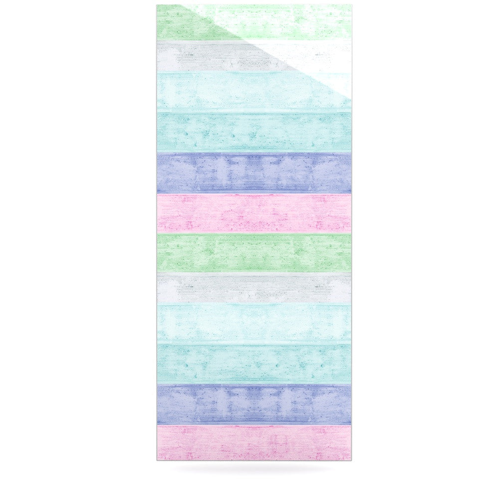 "Monika Strigel ""Beach Wood Pastel"" Luxe Rectangle Panel - KESS InHouse  - 1"
