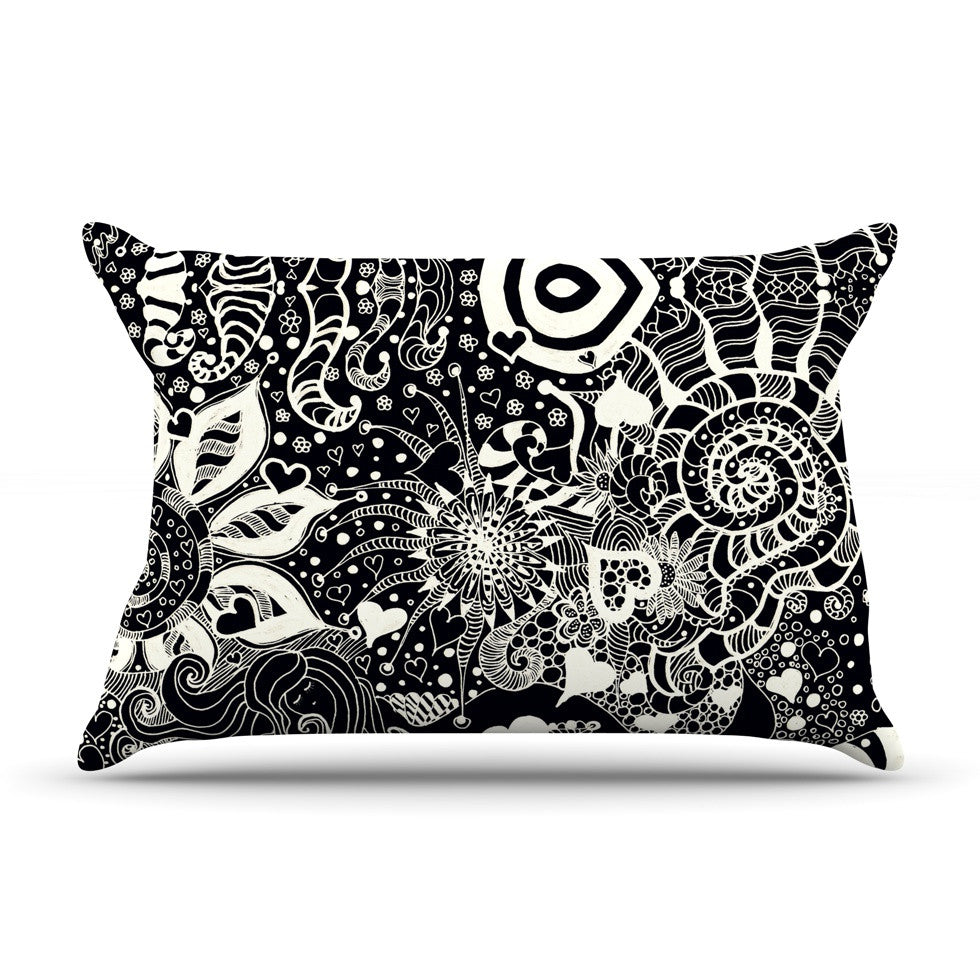"Monika Strigel ""Neptunes Garden"" Pillow Sham - KESS InHouse"