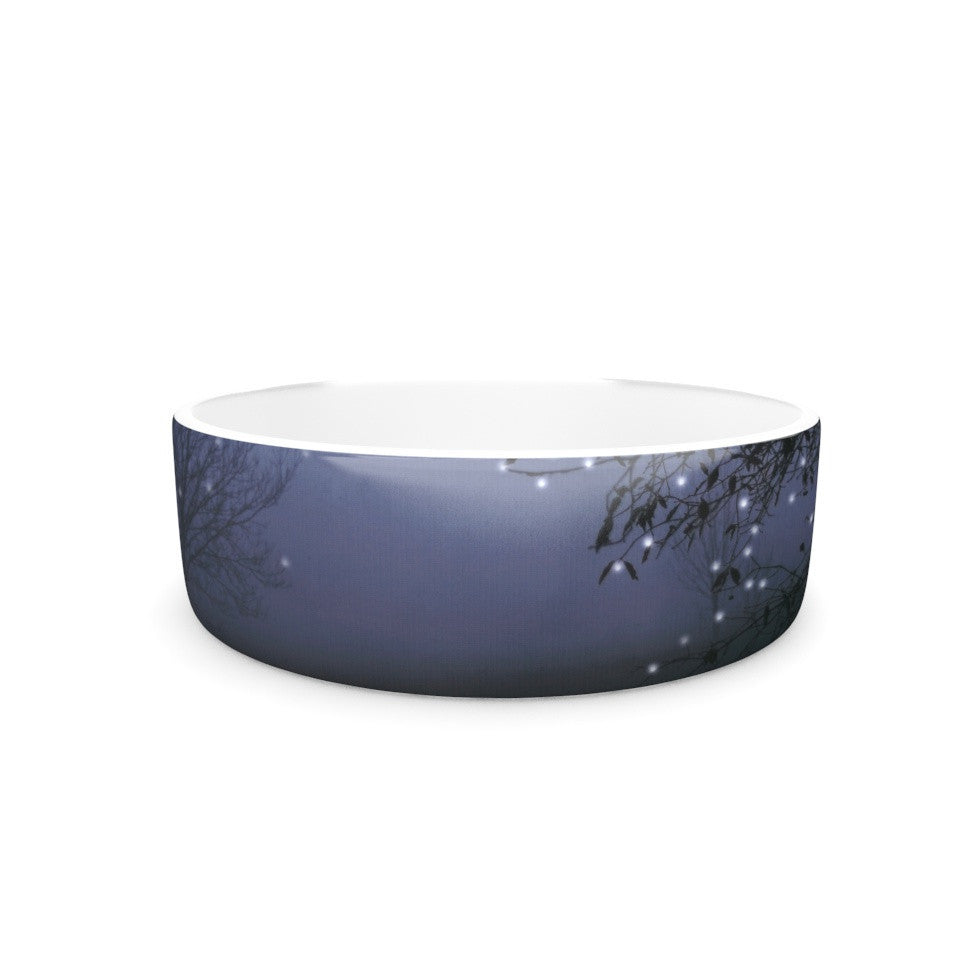 "Monika Strigel ""Song of the Nightbird"" Pet Bowl - KESS InHouse"