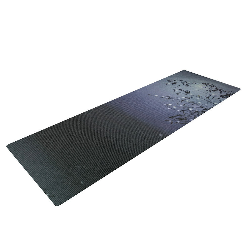 "Monika Strigel ""Song of the Nightbird"" Yoga Mat - KESS InHouse  - 1"