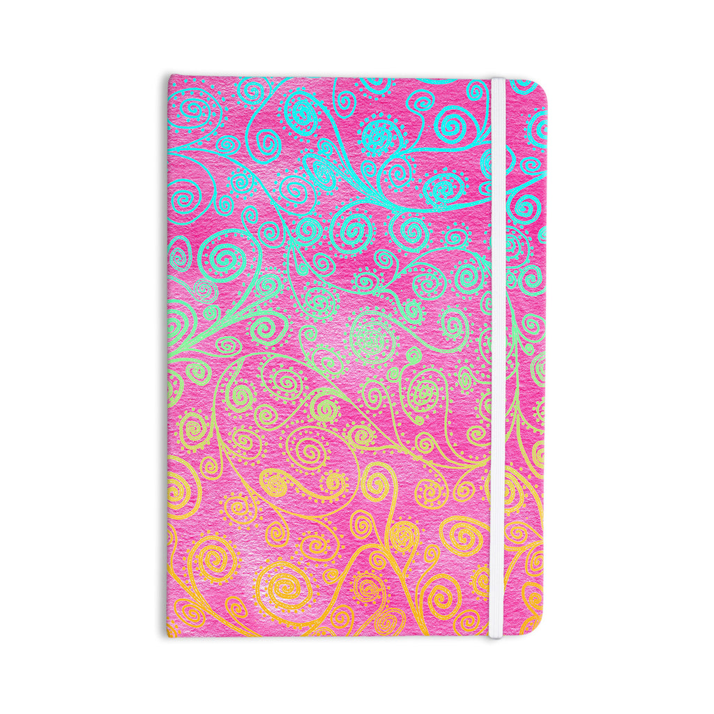 "Monika Strigel ""Get Lucky"" Everything Notebook - KESS InHouse  - 1"
