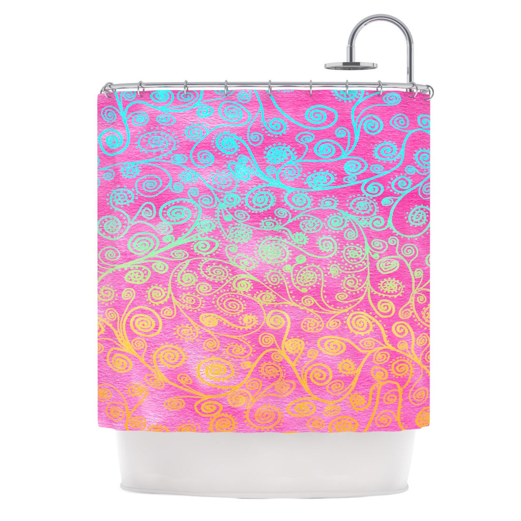 "Monika Strigel ""Get Lucky"" Shower Curtain - KESS InHouse"