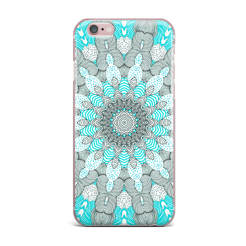 "Monika Strigel ""Dots and Stripes Mint"" iPhone Case - Outlet Item - KESS InHouse"