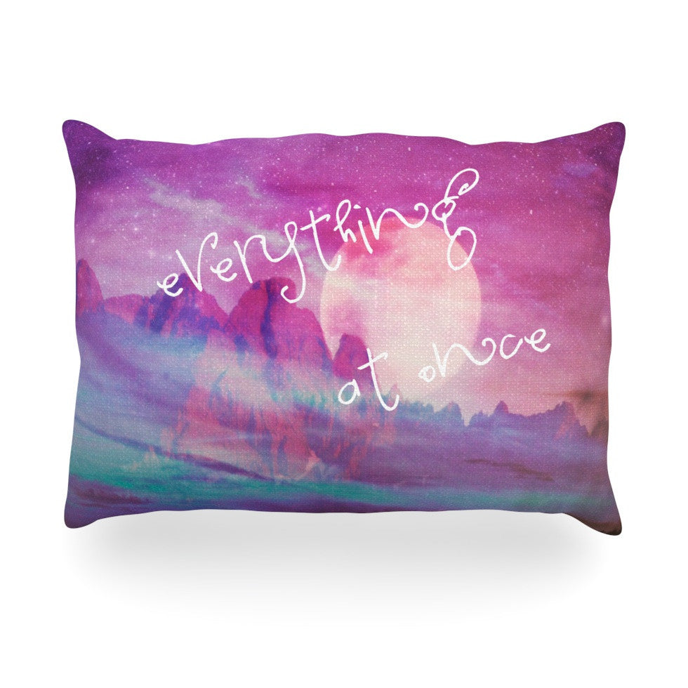 "Monika Strigel ""Everything at Once"" Oblong Pillow - KESS InHouse"