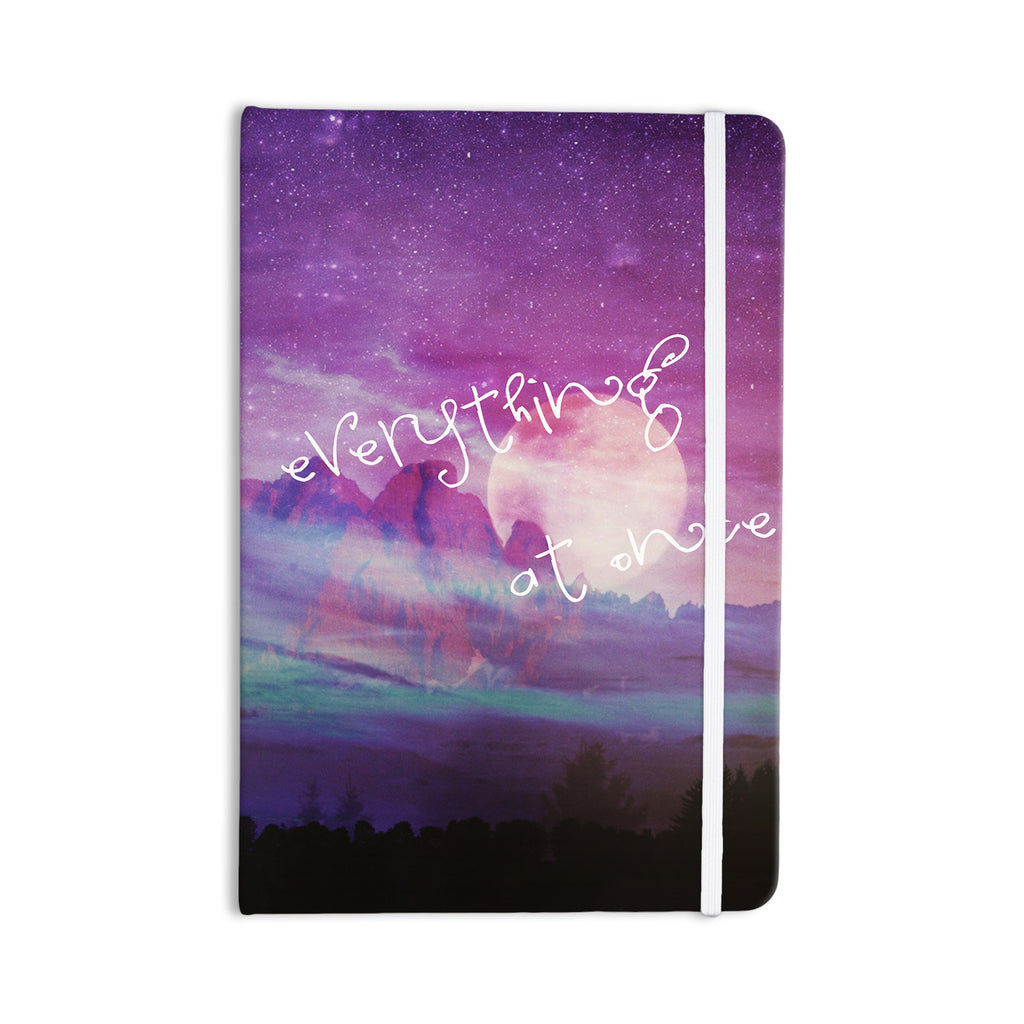 "Monika Strigel ""Everything at Once"" Everything Notebook - KESS InHouse  - 1"