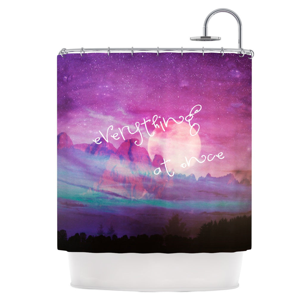 "Monika Strigel ""Everything at Once"" Shower Curtain - KESS InHouse"