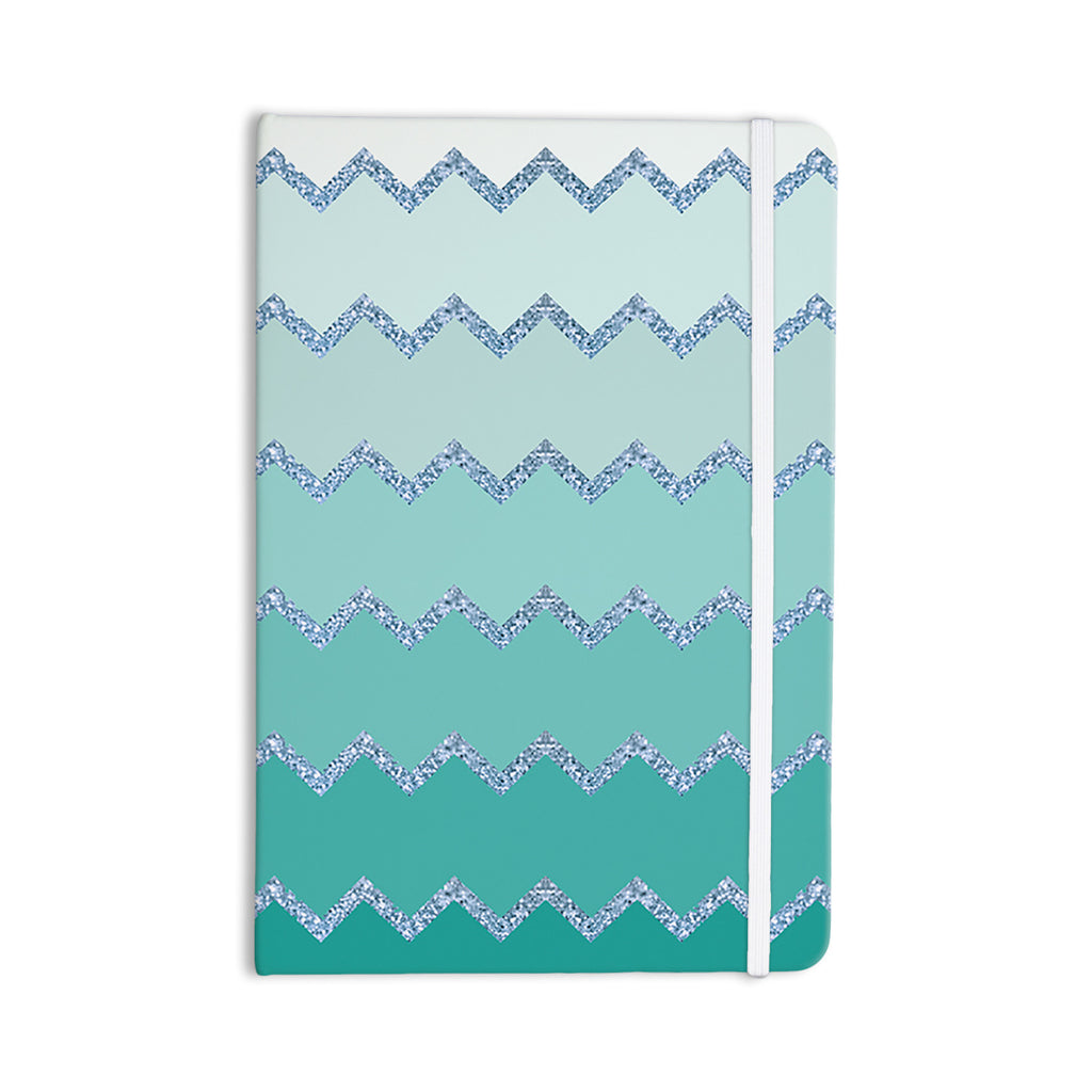 "Monika Strigel ""Avalon Mint Ombre"" Aqua Green Everything Notebook - KESS InHouse  - 1"