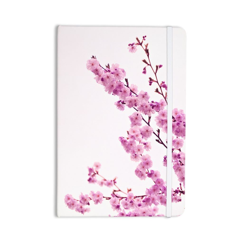 "Monika Strigel ""Cherry Sakura"" Pink Floral Everything Notebook - KESS InHouse  - 1"