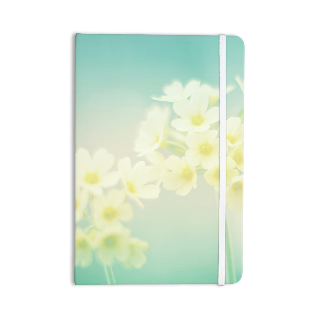 "Monika Strigel ""Happy Spring"" Yellow Teal Everything Notebook - KESS InHouse  - 1"