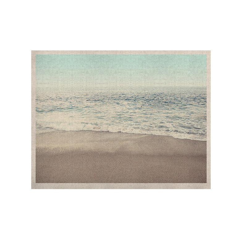 "Monika Strigel ""The Sea"" Blue Coastal KESS Naturals Canvas (Frame not Included) - KESS InHouse  - 1"