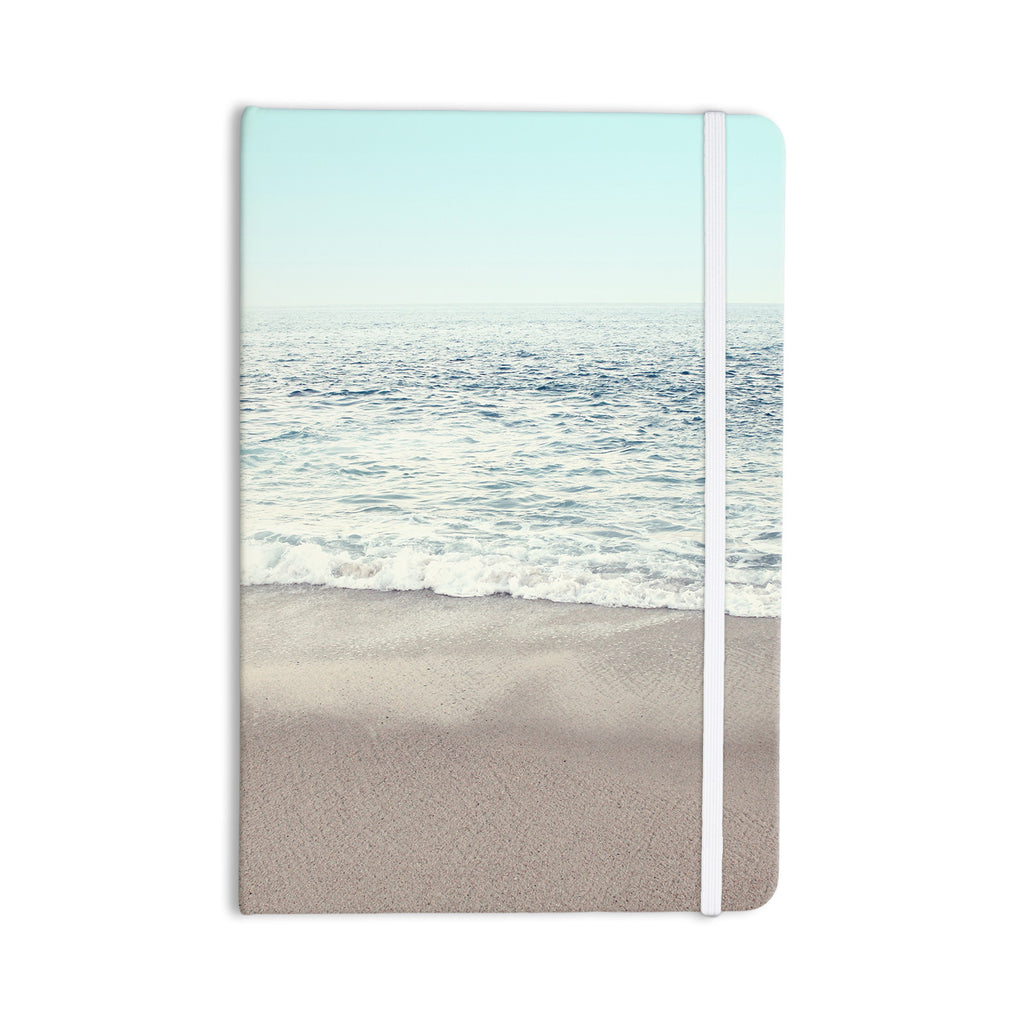 "Monika Strigel ""The Sea"" Blue Coastal Everything Notebook - KESS InHouse  - 1"