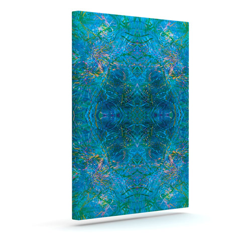 "Nikposium ""Clear Water"" Blue Teal Art Canvas - Outlet Item"