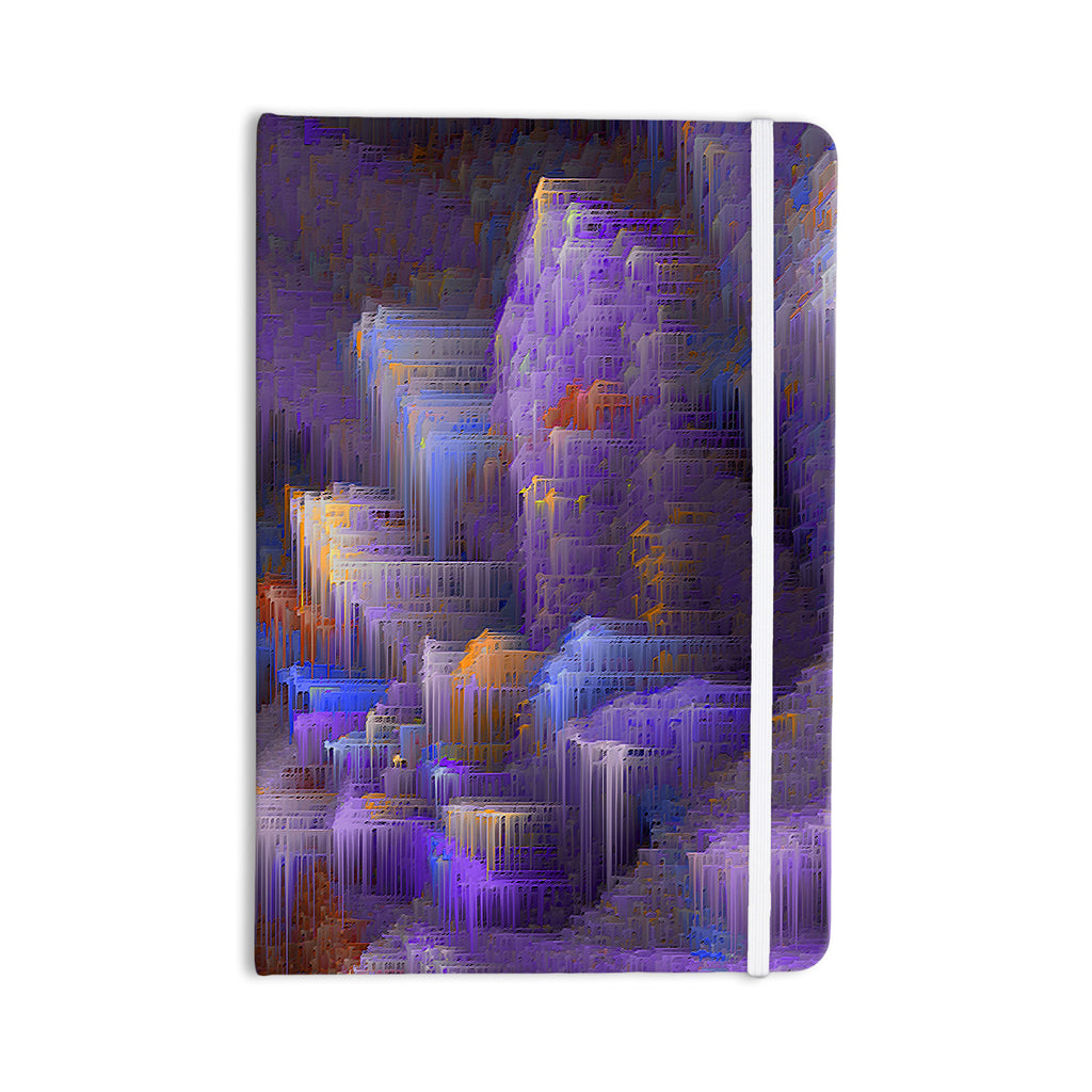 "Michael Sussna ""Purple Mountain Majesty"" Purple Everything Notebook - KESS InHouse  - 1"