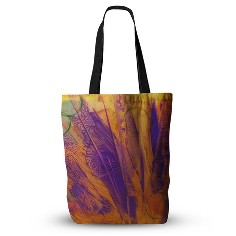 "Malia Shields ""Together"" Purple Orange Everything Tote Bag - Outlet Item"