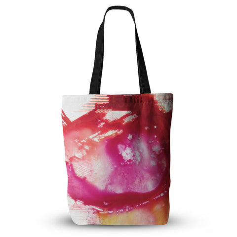 "Malia Shields ""The Color River II"" Pink Red Everything Tote Bag - KESS InHouse  - 1"