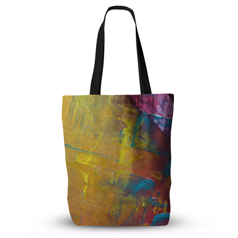 "Malia Shields ""Cityscape Abstracts III"" Pink Yellow Everything Tote Bag - KESS InHouse  - 1"
