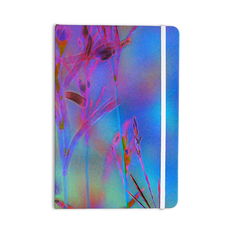 "Malia Shields ""Painterly Foliage Series 2"" Blue Pink Everything Notebook - Outlet Item"