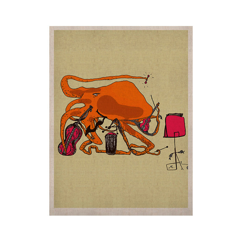 "Marianna Tankelevich ""Playful Octopus"" KESS Naturals Canvas (Frame not Included) - KESS InHouse  - 1"