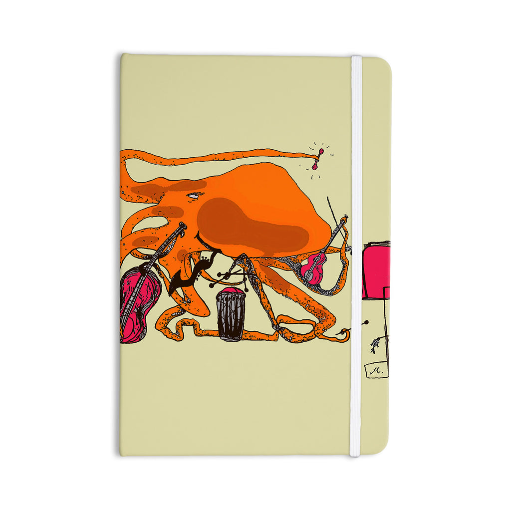 "Marianna Tankelevich ""Playful Octopus"" Everything Notebook - KESS InHouse  - 1"
