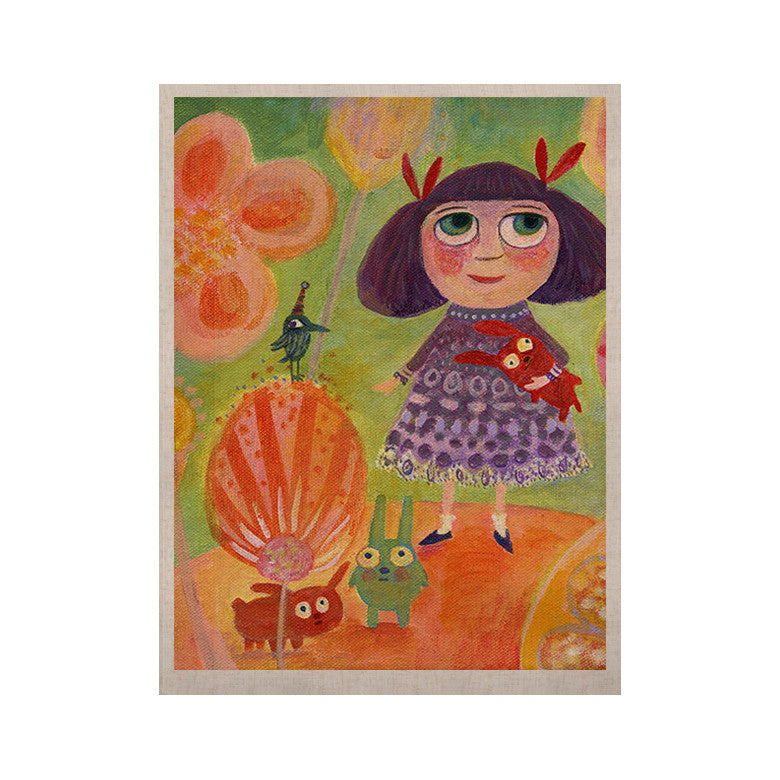 "Marianna Tankelevich ""Flowerland"" KESS Naturals Canvas (Frame not Included) - KESS InHouse  - 1"